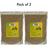 Herbal Hills Tulsi - 1 Kg Powder - Pack Of 2 Natural And Pure Holy Basil Leaves Ocimum Sanctum Powder In A Pouch...