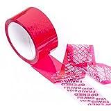 swiftpak 7343Tamper Evident Void cinta, ancho de 50mm x 50m de longitud