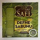 Saf Safi - Natur Seife%100 Natur Lorbeer Seife ''50% Lorbeeröl 50% Olivenöl'' - Natürliches Produkt und Handgemacht - Aleppo Seife - Defne Sabunu ''Traditionelles Rezept aus dem Orient''