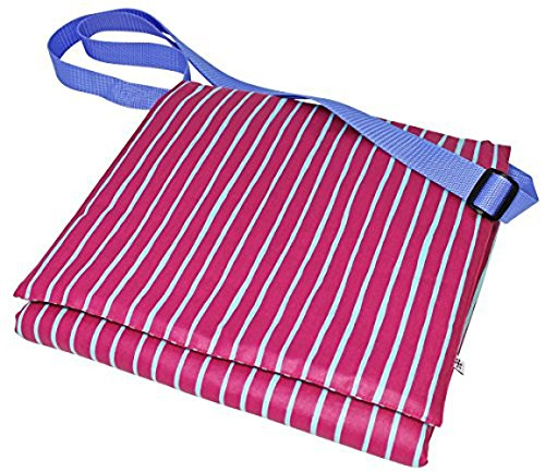 """boubalou Wickelwunder \""""Pink Stripes to go\"""" - Die kompakte Wickeltasche mit gepolsteter Wickelauflage"""