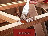 5L Holzlack seidenmatt für Parkett, Holzdielen, Holzfussboden, Gartenmöbel | BEKATEQ Holzschutzfarbe Farbe Holzfarben Holzversiegelung auf Wasserbasis für innen und außen hohe Deckkraft, keine Geruchsbelästigung - MADE IN GERMANY Farbe in RUSTIKAL ROT