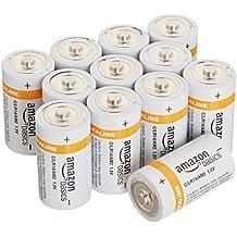 AmazonBasics - Pilas alcalinas C (12 unidades)