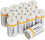 AmazonBasics C Cell Alkaline Batteries [Pack of 12]