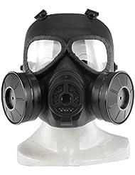 haoyk táctico Dummy anti niebla máscara de gas M04con doble ventilador Airsoft paintbal protección Gear
