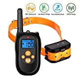 Dog Training Collar, FOCUSPET Remote Shock Collar for Dogs with Vibration, Electric Shock