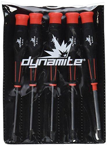 Dynamite 5PC Metrisches Hex Treiber Sortiment (Hex-treiber 2mm)