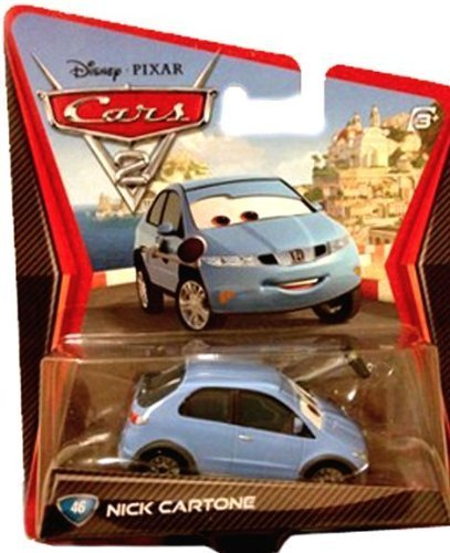 Disney Pixar cars Nick Cartone by Mattel