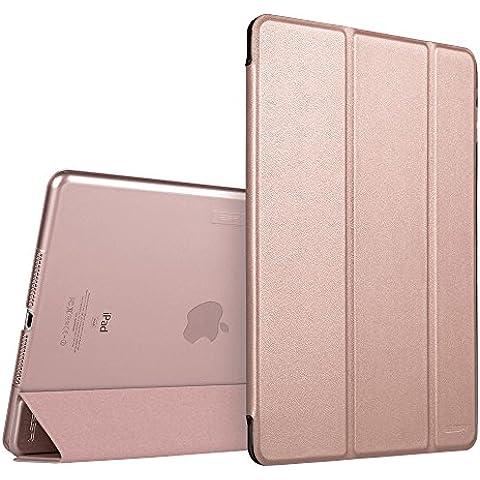 iPad Mini 4 Funda, ESR Serie Yippee,Slim Fit Apple iPad Mini 4 Funda Carcasa con Stand Función y Auto-Sueño/Estela para Apple iPad Mini 4 Lanzado en 2015 Smart Case Cover (Oro