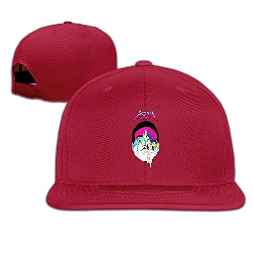 thna-chance-l-acido-rapper-rap-logo-baseball-regolabile-fashion-red-taglia-unica
