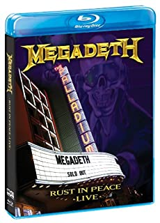 Rust in Peace Live [Blu-Ray] by Megadeth (B003TN920Y) | Amazon price tracker / tracking, Amazon price history charts, Amazon price watches, Amazon price drop alerts
