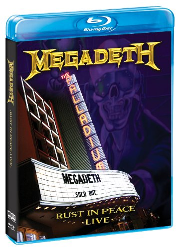 Price comparison product image Rust in Peace Live [Blu-ray] [2010] [US Import]