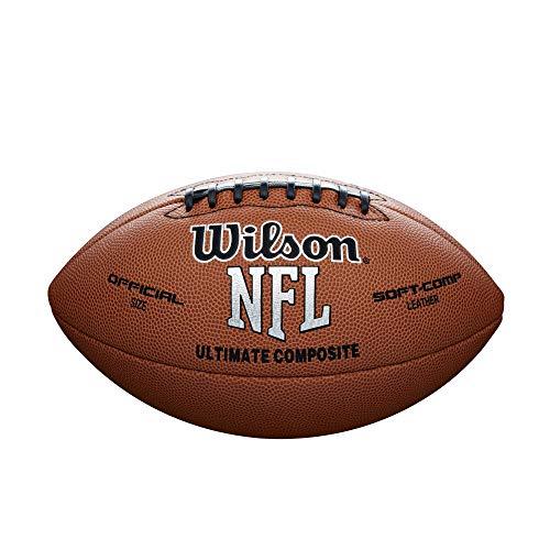 WILSON NFL Ultimate Composite Game Fußball (offizielle Größe)