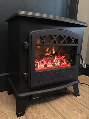 Galleon Fires Castor Electric Log Effect Stove Fireplace