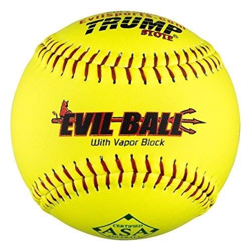 Hälfte Dutzend ASA Evil Ball 30,5cm Softbälle 52COR 300Compression 6Bälle mp-evil-rp-asa-y