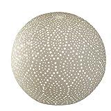Kugellampe, Leuchte SWING PUNKTE D. 16cm Keramik weiß Formano