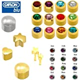 CAFLON NEW PAIR OF EAR PIERCING STUD EARRINGS CHOICE OF STYLE & COLOUR 3 FOR 2 OFFER