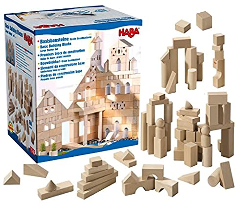 Haba Basic Building Blocks Starter Set (Large)