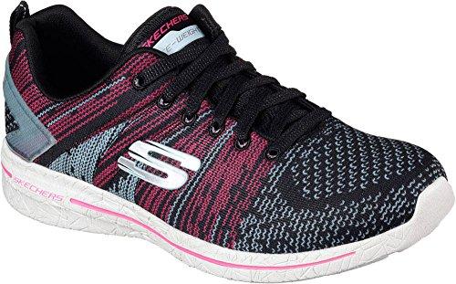 Skechers 12651 Bblp, Scarpe stringate donna Pink/Black