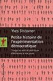 Petite histoire de l'expérimentation démocratique...