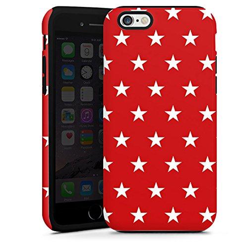 Apple iPhone 5s Housse Étui Protection Coque Motif Motif Petite étoile Cas Tough terne