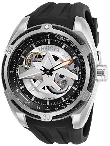 Invicta Herren Analog Automatik Uhr mit Silikon Armband 28167 - Invicta Silikon Bands Watch