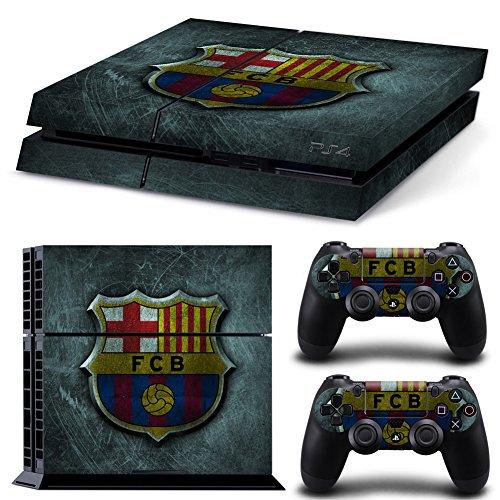 GameCheers PS4 Konsole and DualShock 4 Controller Skin Set - Soccer Sport - PlayStation 4 Vinyl -