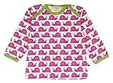 loud + proud Unisex - Baby Sweatshirt 205, Gr. 80 (Herstellergröße: 74/80), Violett (Fuchsia Fu)
