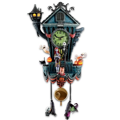 Cuckoo Clock: Tim Burton's The Nightmare Before Christmas Wall Clock by The Bradford Silvers.