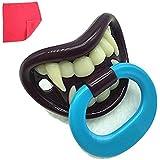 Funny chupete con dientes de vampiro