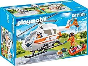 Playmobil 70048City Life helicóptero de Rescate