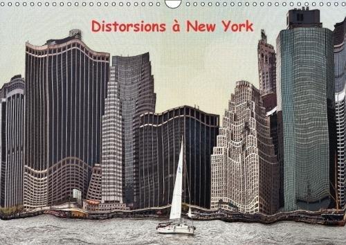 Distorsions a New York 2018: Les Gratte-Ciels De New York Vue En Distorsions par Serge Nouchi