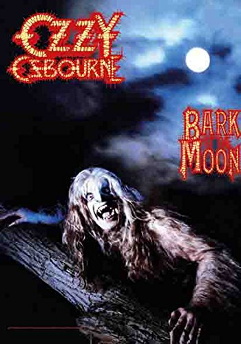 Ozzy Osbourne - Bark at the moon - poster drapeau - 100% Polyester - Taille 75 x 110 cm