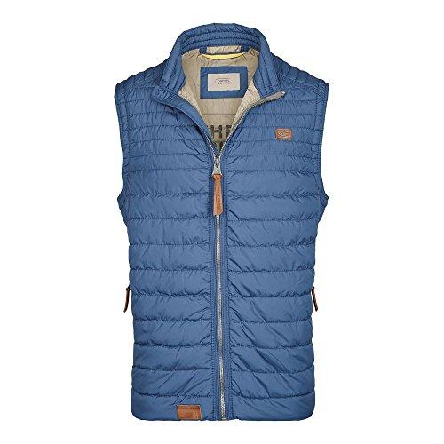 camel active Herren Outdoor Weste 460610 7X23, Blau (Indigo