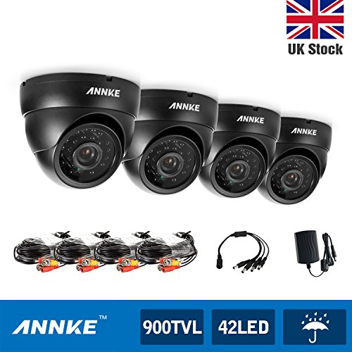 ANNKE 1080P Lite DVR Video Security Camera System