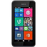 Nokia Lumia 530 Smartphone (10,2 cm (4 Zoll), Single-SIM, 1,2GHz Snapdragon Quad-Core Prozessor, 512MB RAM, 5 Megapixel Kamera, Bluetooth, USB 2.0, Win 8) dark grey
