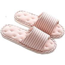 Mujer Verano Zapatillas de Estar por Casa Biorelax Andar Cerradas Peluche Pantuflas pies Abiertas Calienta Zapatos para Originales Slippers Termicas