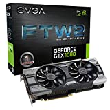 EVGA GeForce GTX 1080 FTW2 GAMING, 8GB GDDR5X, iCX Technology - 9 Capteur thermiques& RGB LED G/P/M, Aysnch Fan, Conception de flux d'air optimisé Carte Graphique 08G-P4-6686-KR