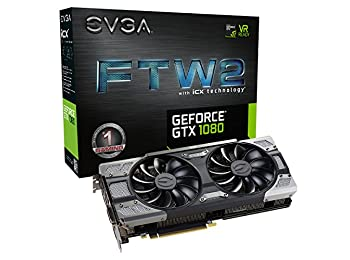 EVGA GeForce GTX 1080 FTW2 GAMING, 08G-P4-6686-KR, 8GB GDDR5X, iCX - 9 Ekran Kartı