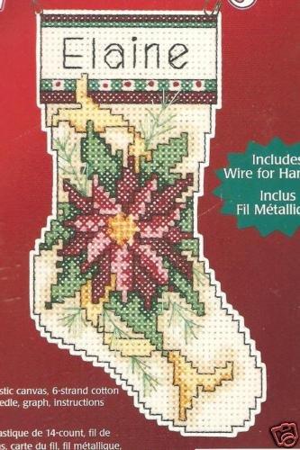 Stella di Natale Albero di Natale Ornament plastica tela Kit per punto croce