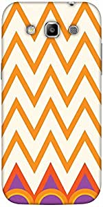 Snoogg Minimal Waves Solid Snap On - Back Cover All Around Protection For Sam...