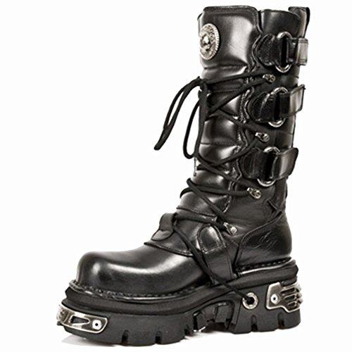 New Rock M.474-S1 BLACK, BLACK