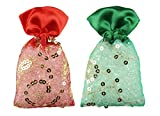 Miracle Perfume Potli. Rose Kesar Chandan & Spanish Touch Fragrance. Air Freshener (50g, Set of 2pcs)