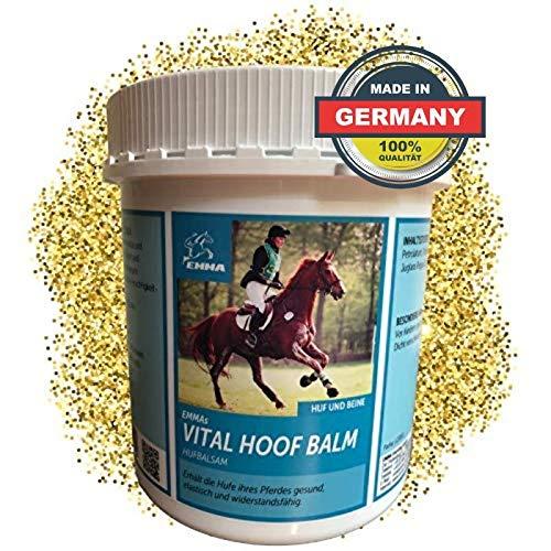 EMMA Hufbalsam für Pferde I Hufpflege für gesunde Hufe I Huffett Pferde trockene Hufe I Hufsalbe I Huffestiger 1000ML