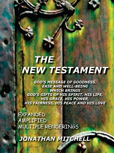 51cRvhqw72L - NO.1 BEAUTY# The New Testament: God's Message of Goodness, Ease and Well-Being Which Brings God's Gifts of His Spirit, His Life, His Grace, His Power, His Fairness, His Peace and His Love Reviews  Best Buy price