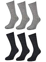 3 bis 18 Paar Woll Socken ohne Gummi 47-50 Übergröße Herren Norweger Socken - 33311 33335