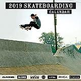 S & A Publishing 2019 Skateboarding Wall Calendar, Board Sports