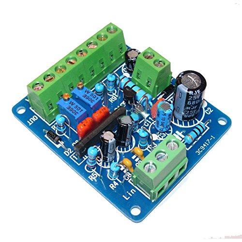 TOOGOO Modulo di driver del misuratore di livello dell'amplificatore di potenza del DB DB della scheda del driver del volt di CC 12V
