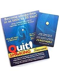 Dejar de fumar con imanes Zerosmoke salud–Auricular terapia imán pendientes