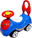 Bonkerz 4 Wheel Sunny Rider Toddler & Push Along Small Magic Car With Horn For Kids