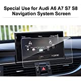 LFOTPP Audi A6 S6 A7 S7 (2013-2017)/A8 S8 (2012-2017) Navigation Schutzfolie - 9H Kratzfest Anti-Fingerprint Folie Navigationssystem Displayschutzfolie GPS Navi Schutzfolie